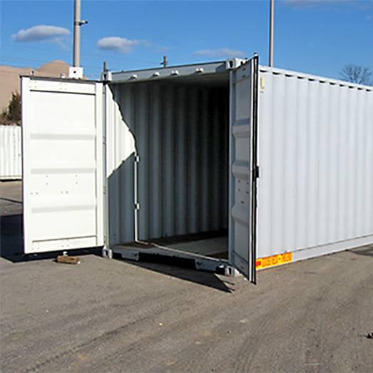 Виды контейнеров под склад в мегаполисе