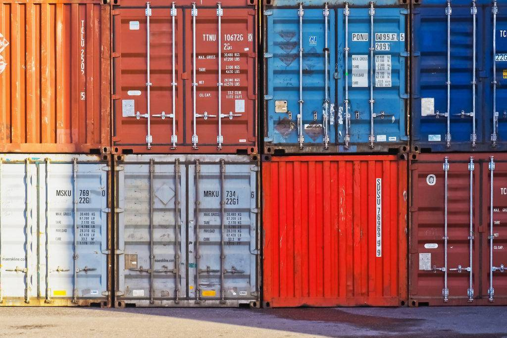 Виды контейнеров под склад
