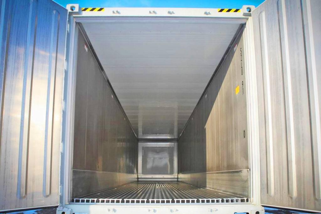 Виды рефрижераторных контейнеров